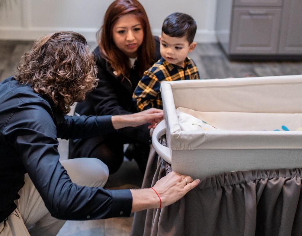 sluiten kist overledene afscheid van oma en schoonmoeder rok baar