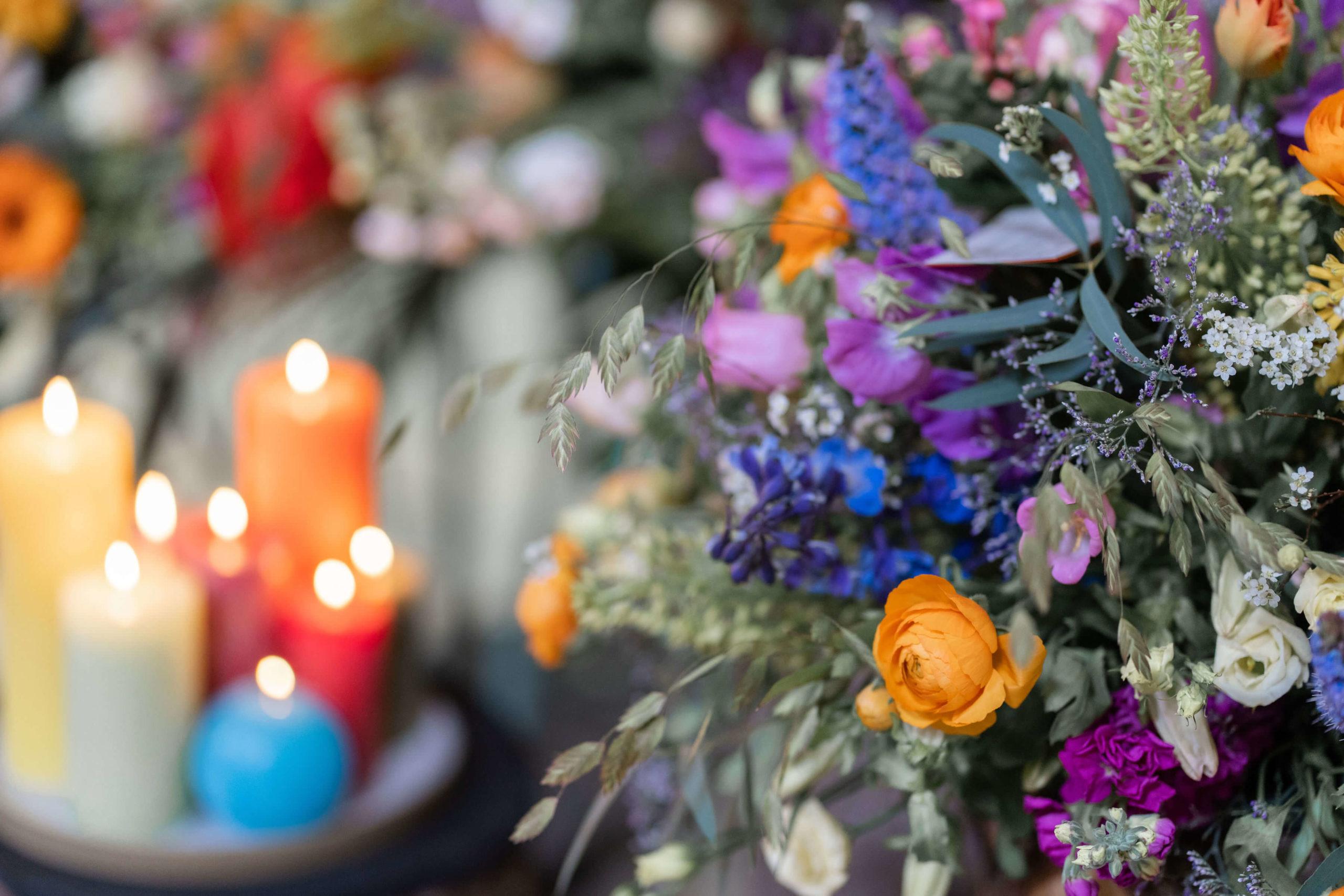 kaarsen-bloemen-afscheid-begrafenis