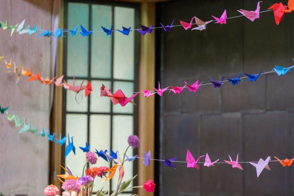 afscheid-kraanvogels-bloemstuk